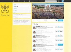 Papa Benedetto XVI su Twitter, Social Media Marketing