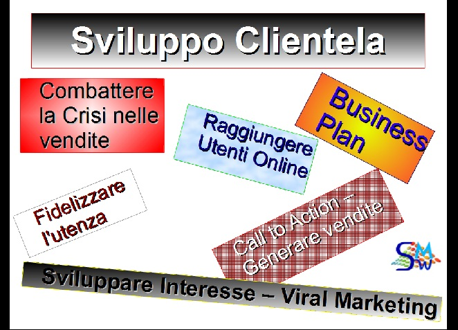 web marketing, seo e social per il tuo business slide uno