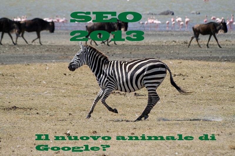 Zebra algoritmo google, seo 2013