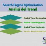analisi del trend per parole chiave e SEO
