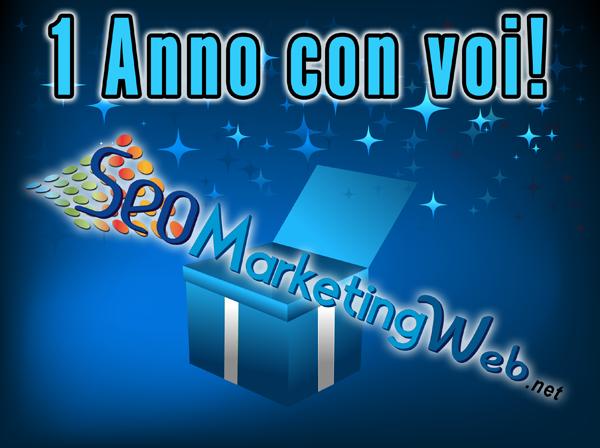 1 anno con seomarketingweb.net