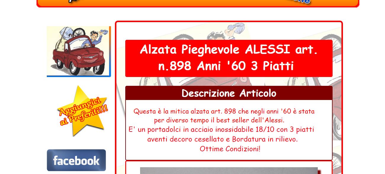 inserzione template personalizzato ebay realizzato da smwnet