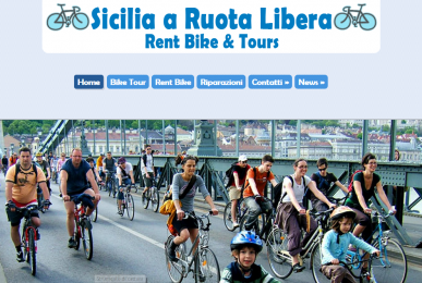 sicilia a ruota libera - realizzazione siti web palermo SMWnet