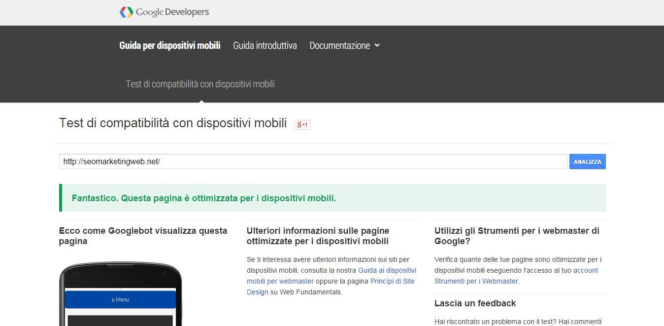 google mobile friendly il tuo sito web realizzato responsive per tutti i dispositivi smartphone tablet pc