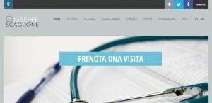 Realizzazione sito web per medici e ginecologi palermo_Scaglione