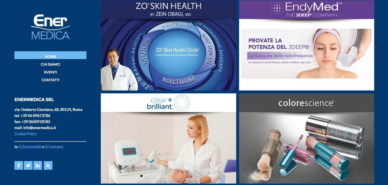 restyling completo sito web enermedica