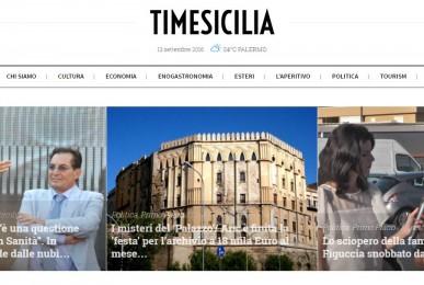 realizzazione quotidiano siciliano online moderno e responsive in stile classico newspaper