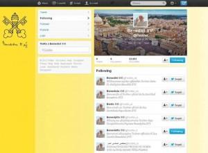 Papa Benedetto XVI su Twitter, Social Media Marketing