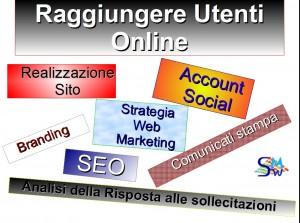 web marketing e seo: come aumentare e raggiungere utenti online